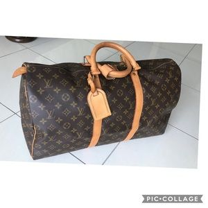 🌺Louis Vuitton Keepall 50🌺🌺🌺🌺🌺🌺🌺🌺💕💕🖤🖤